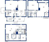 Kellarikerrosta 57 m2, ei lasketa asuinalaan