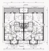 B- taloon valittavana 2 eri pohjapiirustus vaihtoehtoa