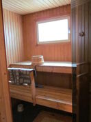 Asuinhuoneiston sauna