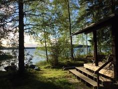 Mökin kulmalta järvelle