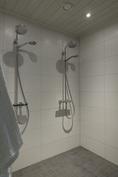 Kaksi tyylikästä suihkua