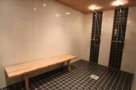 Taloyhtiön saunan kylpyhuone