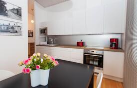 kaunis uusittu keittiö