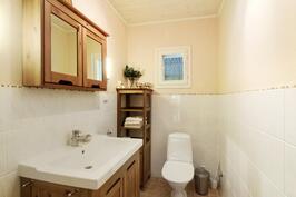 Erillinen wc on hyvinkin tarpeellinen