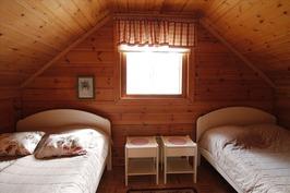 Yläkerrassa makuuhuone