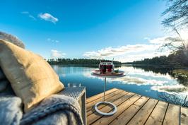 Valkolampijärven vesi on erittäin puhdasta ja juomakelpoiseksi luokiteltu.