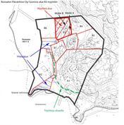 Kartta yhtiön alueesta