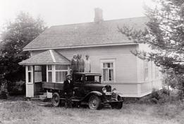 Alkuperäisen talon kuva