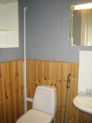 ... asiallinen wc sekä ...