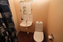 Huoneissa kylppäri/wc