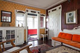 vanhan talon huone
