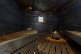 Todella upea sauna