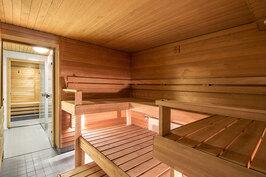 Yhtiön uusittu sauna