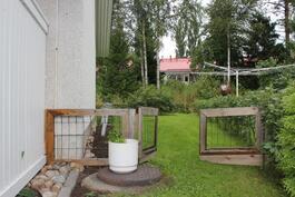 Portit takapihalle esim. koiralle