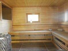 .. ja tilaa saunoa