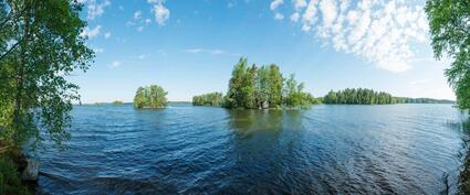 Panoramaa järvimaisemista