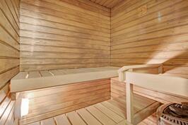 Omassa saunassa saat makoisat löylyt