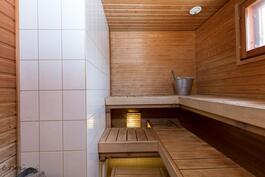 Yläkerran sauna