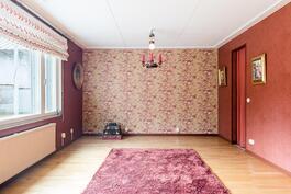 Makuuhuone ja vaatehuone