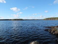 Näkymää järvelle