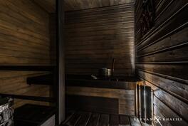 Sauna on vuonna 2011 petsattu ja kiuas vaihdettu
