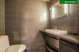 Kylpyhuoneen wc-tila