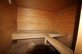Talohtiön sauna
