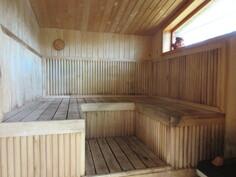 ... rantasaunan edustustason sauna, ...