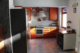 Keittiössä myös ikkuna