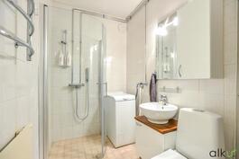 Kylpyhuone on kaunis!