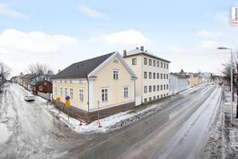 Näkymä Antti Chydeniuksenkadun suunnasta