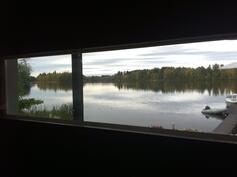 Kuva saunasta järvelle