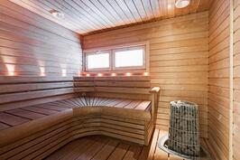 Laadukas sauna pilarikiukaalla