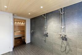 Taloyhtiön sauna