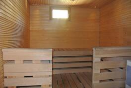 Talon tilava sauna