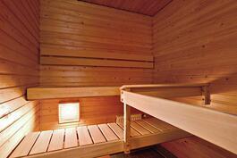 Oma sauna / Egen bastu