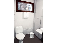 Siistikuntoinen alakerran erillinen wc