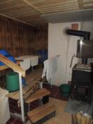 Ulkorakennuksessa oleva sauna