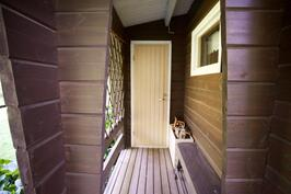 ovi saunaan
