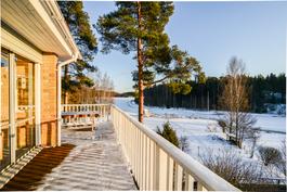 Näkymät terassilta / Utsikt från terrassen
