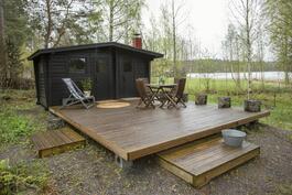 sauna ja vierashuone