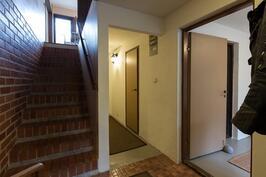 Eteinen portaikko keskikerrokseen