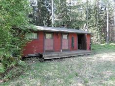piharakennuksessa huone, sauna ja varasto