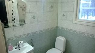 Pesutilojen wc