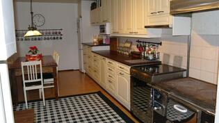 Kaunis ja toimiva keittiö
