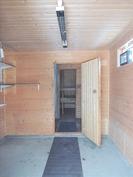 Ulkorakennuksen pukuhuone