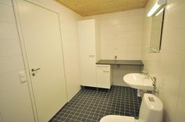 Kodinhoitotilaa kylpyhuoneessa