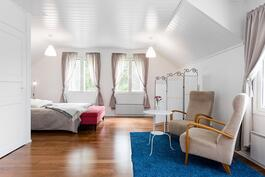Yläaula/makuuhuone 1
