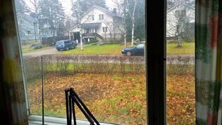 keittiön ikkunanäkymä
