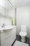 Erillinen wc helpottaa arkea